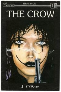 Primera portada del comic, de 1989 por editorial Caliber PRESS.