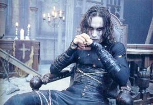De las imagenes mas clasicas correspondientes al film de 1994 portagonizado por el señor Brandon Lee.